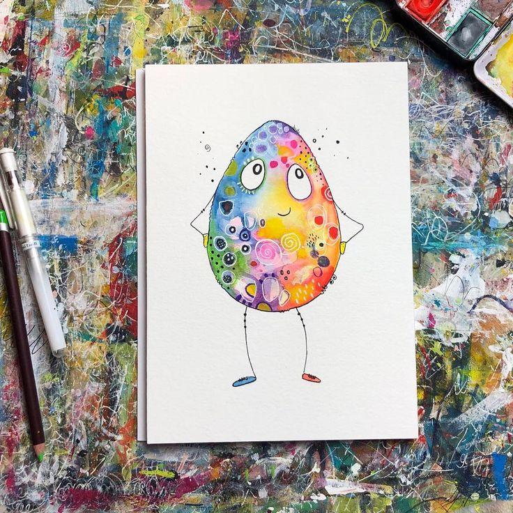 """Happy Painting! on Instagram: """"Ei ei ei 🤗 Was wir wohl in der Live Mal Session zu Ostern malen werden? 🥰🐰🐥🥚 Ich bin selbst noch gespannt und kann mich noch gar nicht für…"""""""