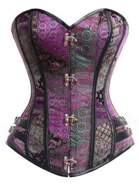 $8.68 for Strapless Sleeveless Lace-Up Printed Corset For Women