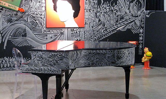 Jona Cerwinske Art Steinway...This is sooo Beautiful