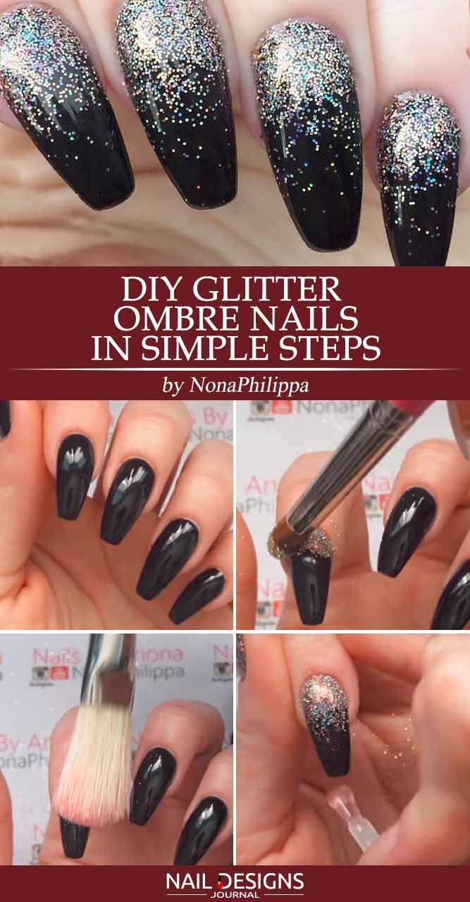 21 Best Ideas How To Do Ombre Nails Designs Glitter Ombre Gel Nails Picture 1 There Is No Need To W Ombre Gel Nails Ombre Nails Tutorial Ombre Nail Designs