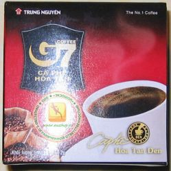 Trung Nguyen Coffee G7 быстрорастворимый натуральный черный кофе - 15 пакетиков - 30 гр.