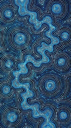 Spectacular-Aboriginal-Art-by-Tammy-Matthews-66cm-x-113cm