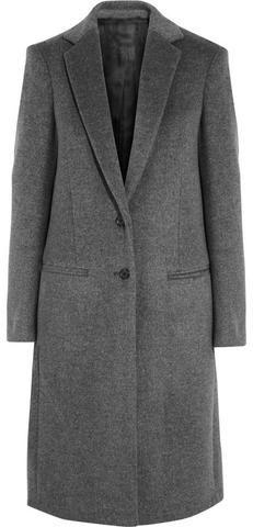 'Mart' Wool-Blend Coat