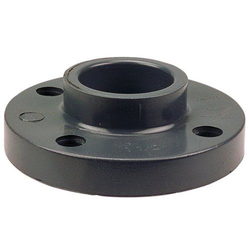 "NIBCO 4551-H Series PVC Pipe Fitting, Flange, Schedule 80, 1-1/2"" Socket"