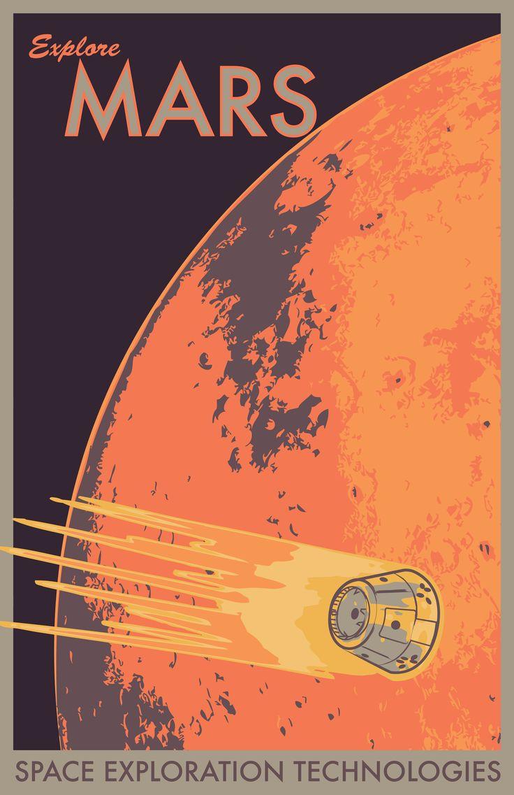 Geek Art Gallery: Posters: Space Travel