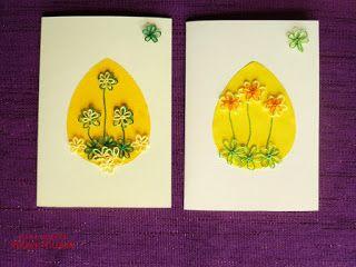 #eastercard #eastercraft #tatting #spring #flowers