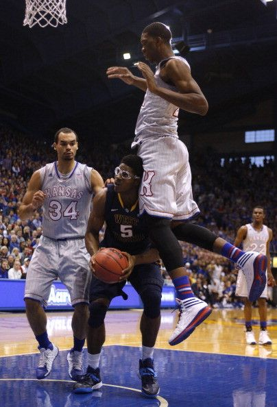 Kansas Jayhawk Basketball rolls West Virginia 83-69 - Topeka Kansas Jayhawks Basketball | Examiner.com