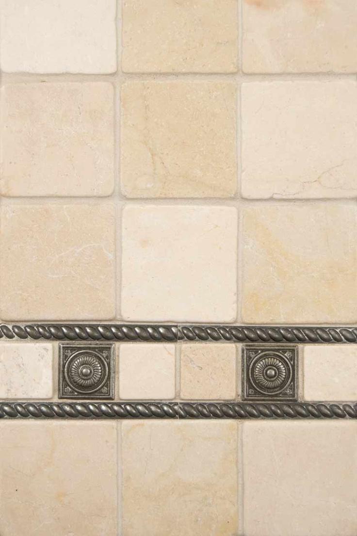33 best kitchen images on pinterest kitchen ideas walmart and crema marfil marble and pewter metal wall tiles by msi stone backsplash tilebacksplash ideaswall