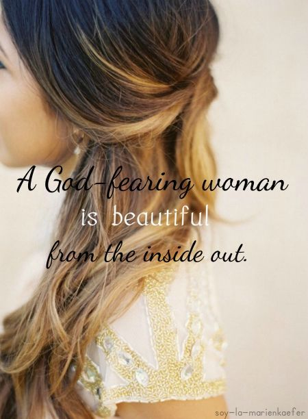 ...beautiful from the inside out.