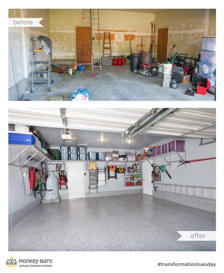 Amazing before and after from Monkey Bar Storage