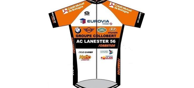 Maillot 2016 de l'AC Lanester 56 – Breizh Cyclisme Vidéos