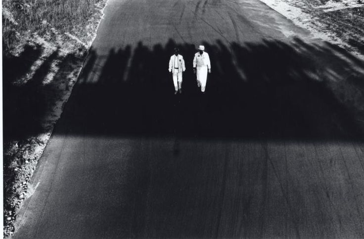 Overpass Shadows, Connecticut Race Track, 1967