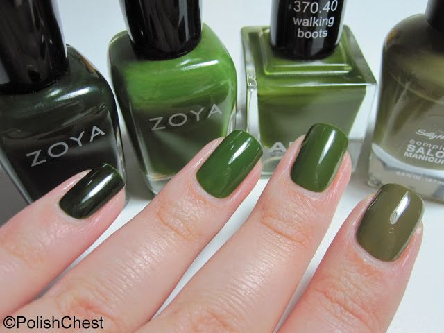 40 best Green polishes images on Pinterest | Green, Nail polish and ...