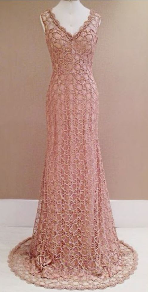 New Style Prom Dress Blush Pink Evening Gowns lace Prom Gowns