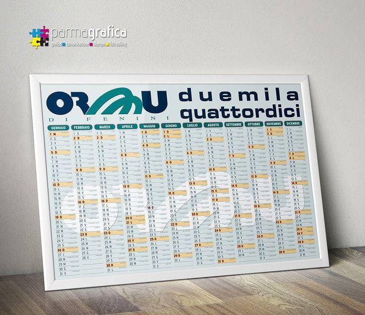 Calendario murale