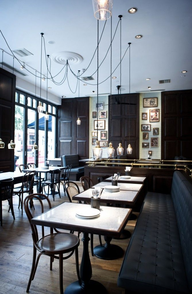 Dishoom Restaurant, London designed by Afroditi Krassa