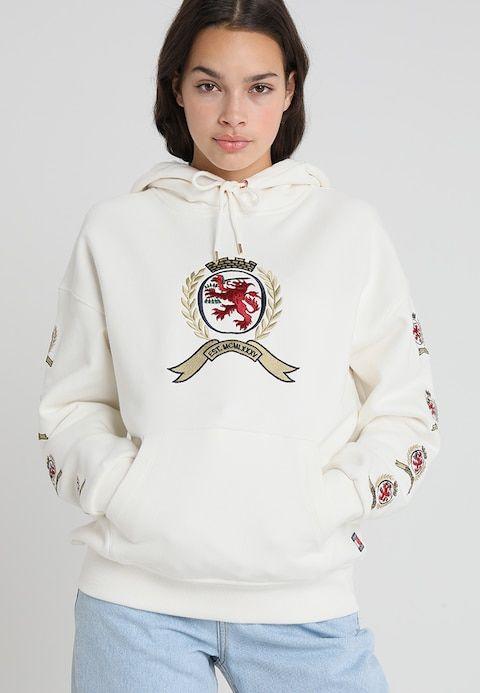 Crest Jersey Con Hoodie Cloud es DancerZalando Capucha cAjq5L34R