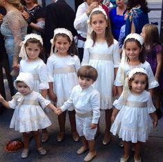 Trajes de arras y fiesta 2014 - CANDELA - Trajes de arras. Trajes de pajes. Trajes de fiesta. Trajes de primera comunión