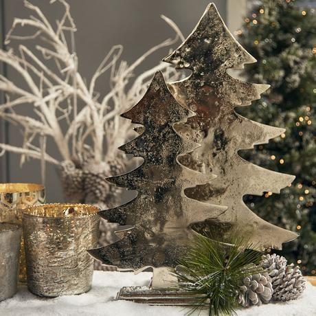 Shining Metal Christmas Tree Ornaments