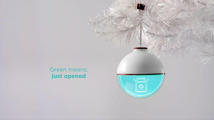 USPS made an ornament that displays package tracking updates