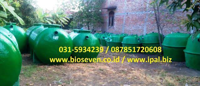 Bioseven Septic Tank Bio IPAL Anti Mampet: Septic Tank Biofilter Portable untuk Rumah Lahan S...