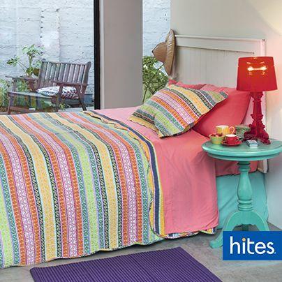 Colores vivos le darán a tu dormitorio más personalidad.