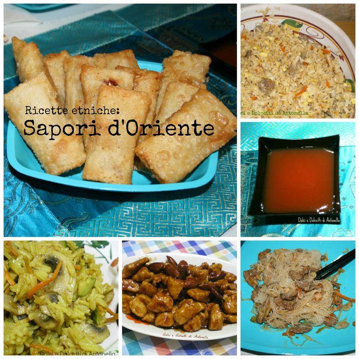 Ricettario gratuito ricette etniche, Sapori d'Oriente | Dolci e Dolcetti di Antonella
