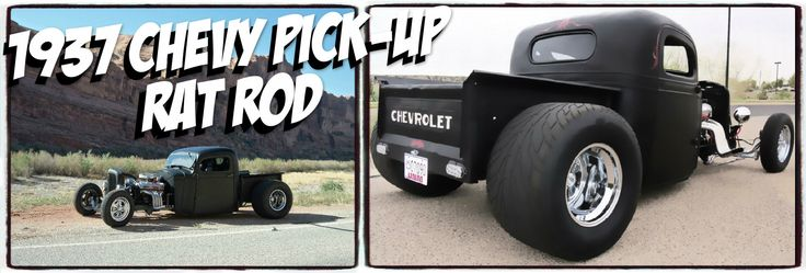 1937 Chevy Pick-Up Rat Rod built by Duane Gustin. http ...