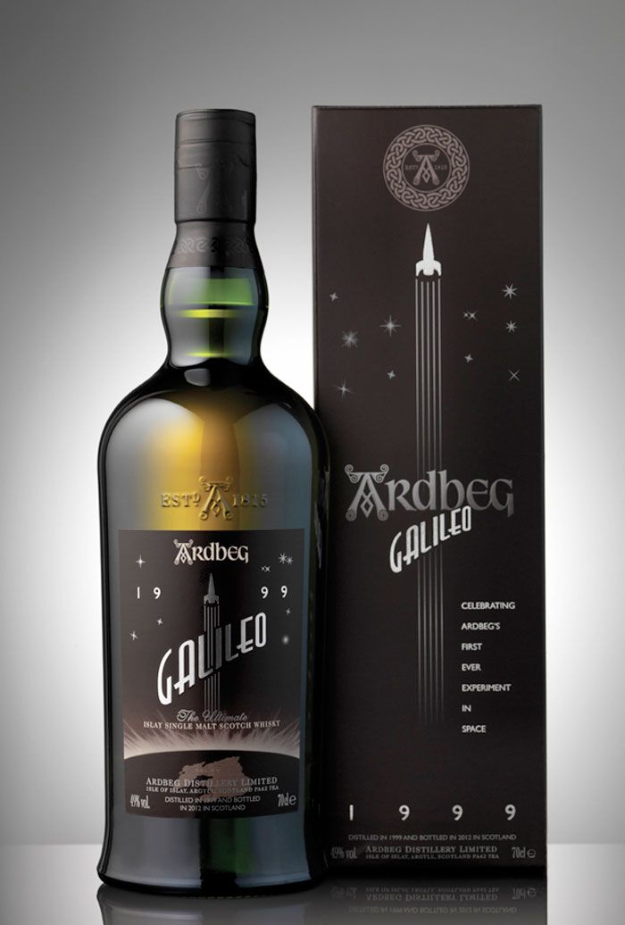 Ardbeg Distillery's limited editition single malt scotch whiskey. Designed by Zing
