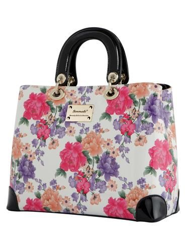 Blossom Large Leather Bag