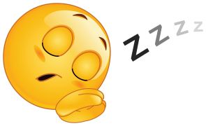 sleeping smiley sticker                                                                                                                                                                                 Mehr