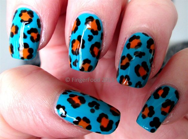 1189 best best of nail art gallery images on pinterest nail guava mango leopard print by fingerfood nail art gallery nailartgalleryilsmag prinsesfo Images