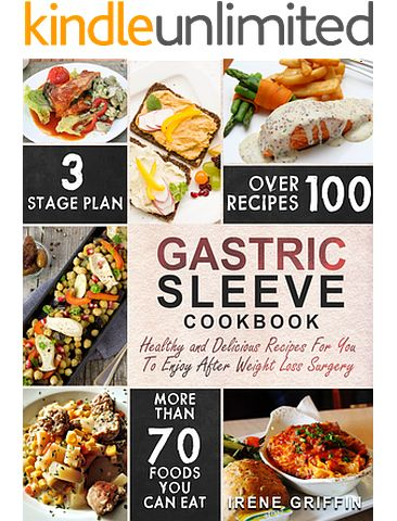 33 best bariatric menus images on pinterest exercises exercise gastric sleeve cookbook healthy and delicious recipes for you to enjoy after weight loss surgery forumfinder Image collections