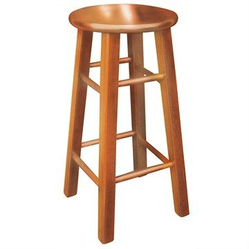 Mission Solid Painted Timber Bar Stool - Maple