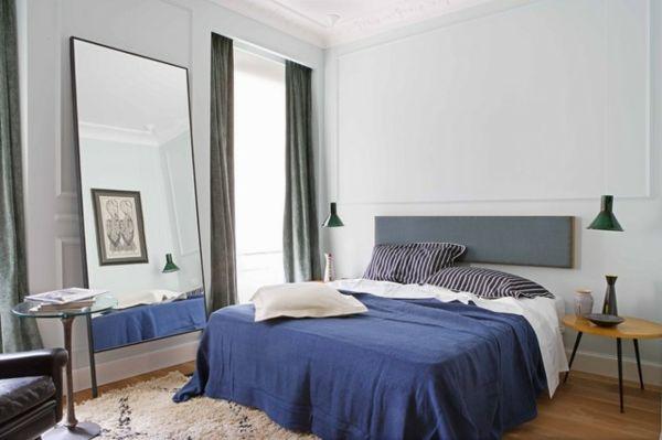 Ideen für männliches Schlafzimmer Design
