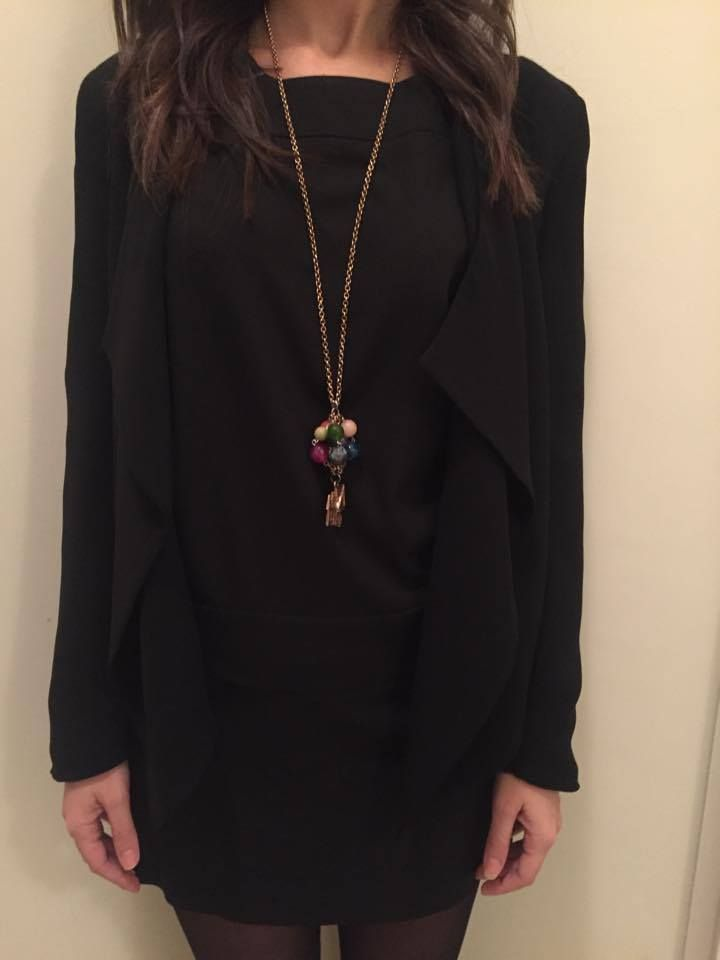 #up #bronze #necklace #lovingmagia Outfit by Margherita  TnksGirl!!!