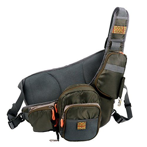 Anglatech fly fishing sling and chest pack lightweight for Amazon fishing gear
