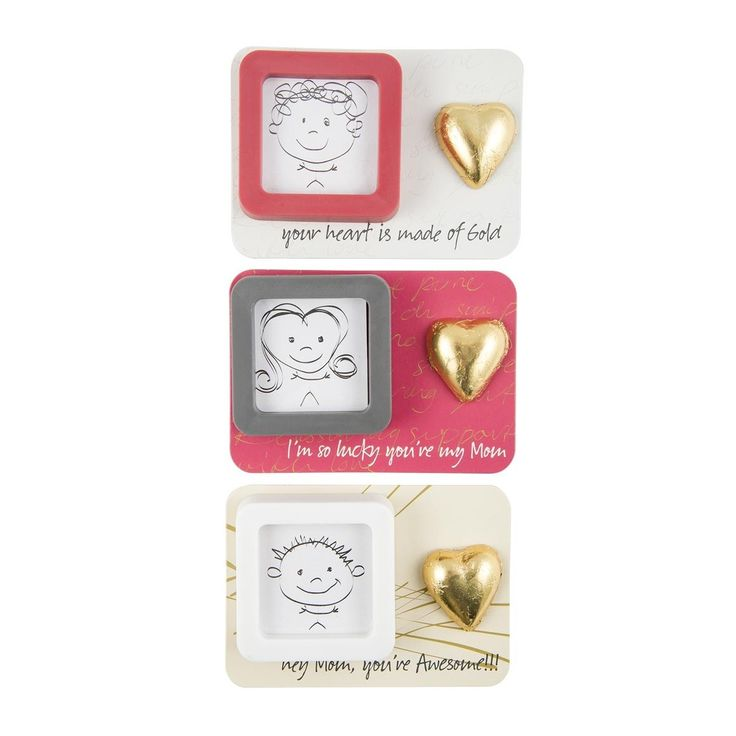 Mother's Day Photo Frame Magnet - You frame the faces of the ones you love and they are forever etched in your heart, soul and mind...