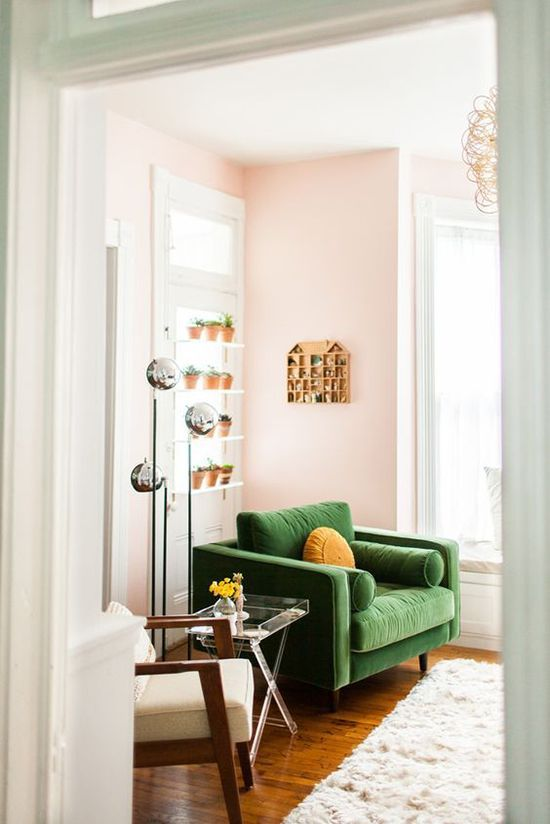 weekend at home: seeing green | designlovefest
