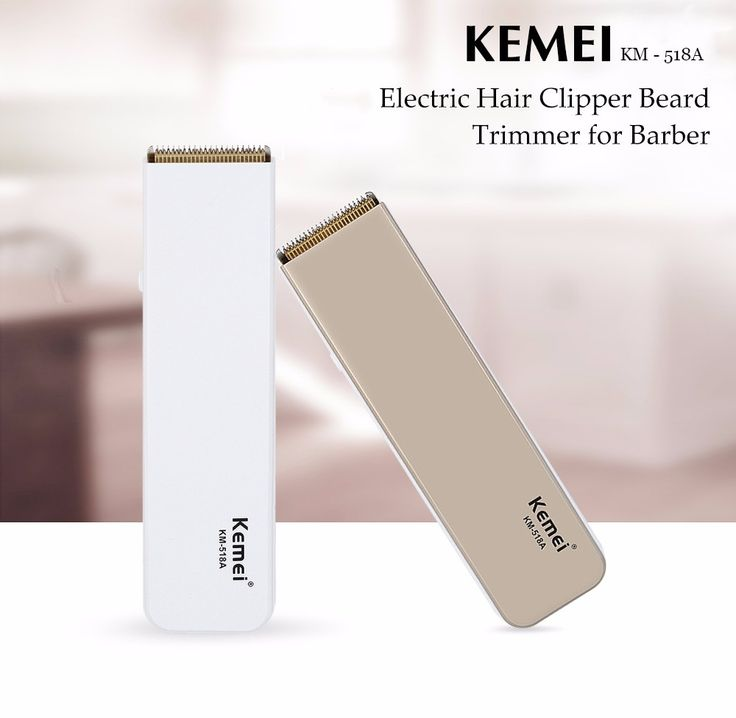 Kemei KM - 518A Professional  Electric Hair Clipper Beard Trimmer Barber Hairdressing Tool Hair Cutting Machine
