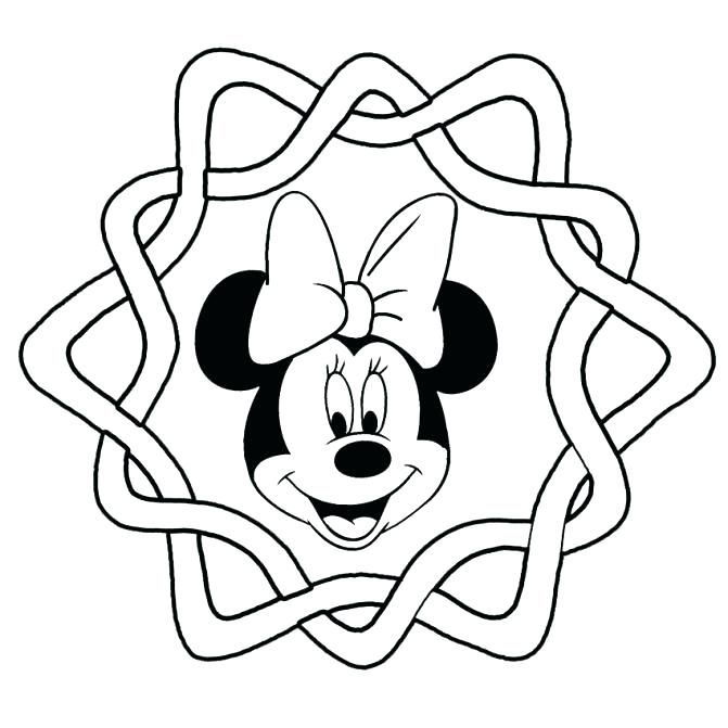 671x671 Coloring Pages Of Minnie Mouse Mouse Coloring Pages Free