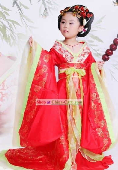 Ancient Chinese Tang Dynasty Little Princess