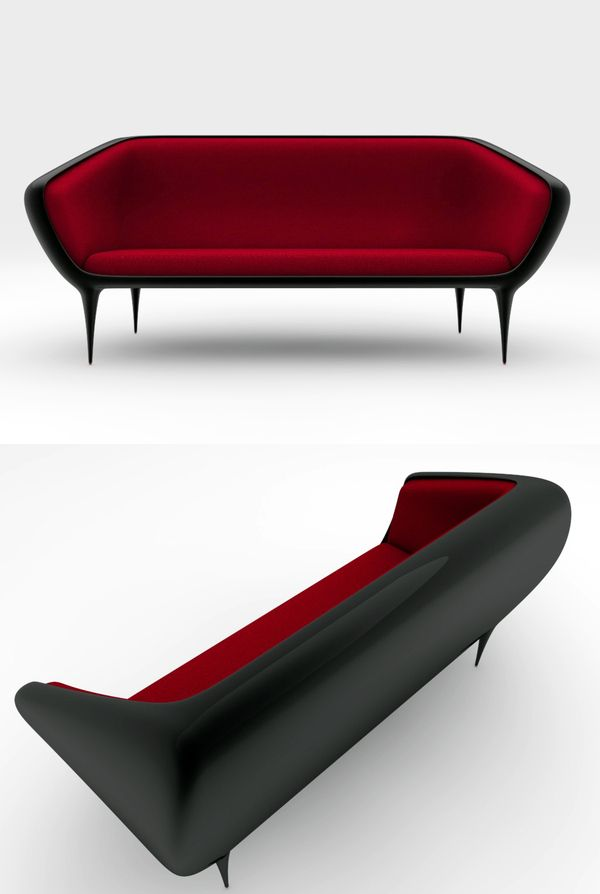 Torus Couch Design By Camilo A. R.Marquez Is A Couch In Fiber Glass With  Gel Coat