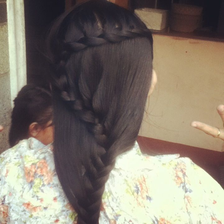 My CHURCH Hair style :)) hope you LIKE IT !!