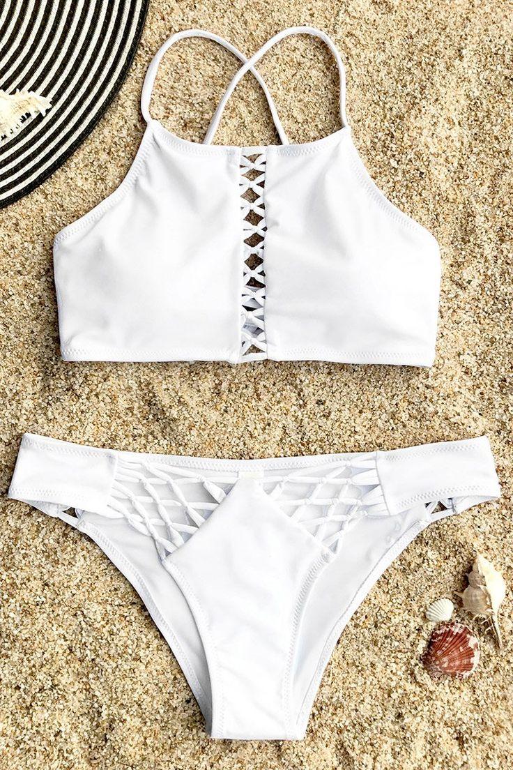 46 Best Activegoddesscom Apparel Images On Pinterest Bikini Minimal Cropped Jumpsuit Jet Black Fs Hitam Xl Cupshe Guardian Angel Lace Up Set