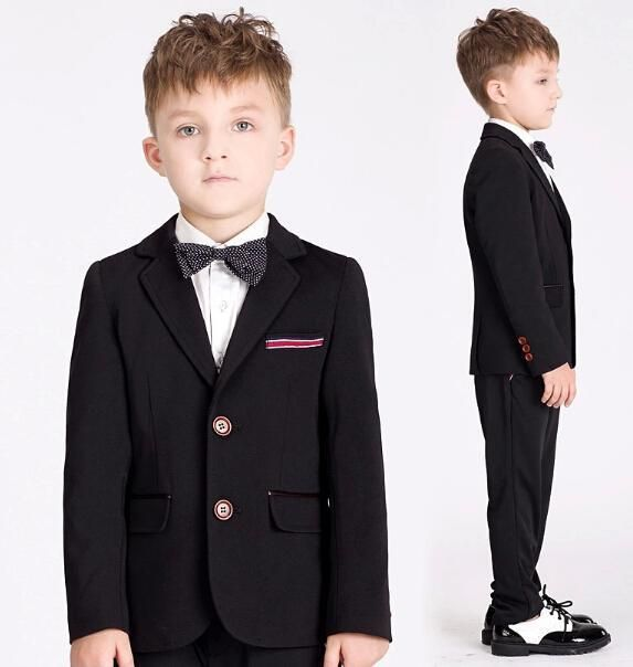 Kid Clothes Little Boys Suits Fashion Loveliness Small Boy Suit Children'S Casual Wedding Party Suit Children Costumes Dress Jacket+Pants+Tie Formal Wear For Toddlers Boy From Helansheng, $73.3| Dhgate.Com