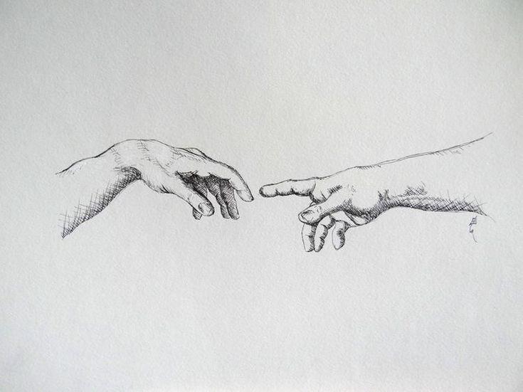 счет две руки тянутся друг к другу картинки черно белые мысль, что лишай