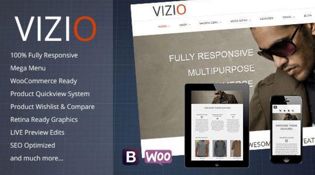 Download Free Vizio v1.0.4 Multipurpose WP Theme