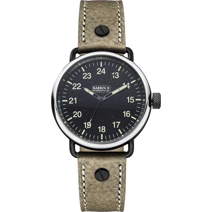 Barbour International Mens Watch - BB022BKBR from WatchWarehouse