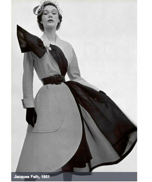История моды: платья в стиле 50-х годов / Мода / trendy